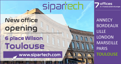 Sipartech office in Toulouse