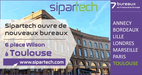 Bureau Sipartech à Toulouse Actualités