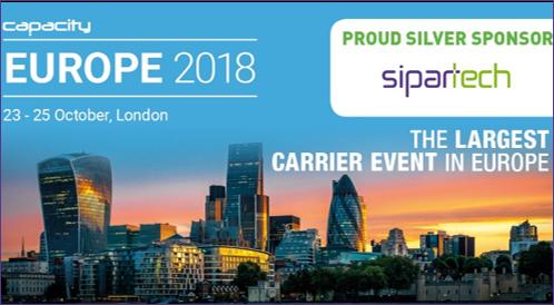 SIPARTECH @CAPACITY EUROPE 2018